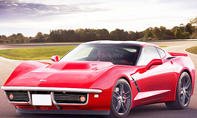 Chevrolet Corvette Stingray mit der Front der Chevrolet Corvette C3