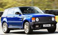 Range Rover Sport mit der Front des 1990er Range Rover