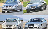 Audi/BMW/Jaguar/Mercedes/Volvo: Gebrauchte Oberklasse