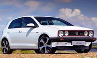 VW Golf 7 GTI mit der Front des VW Golf 1 GTI