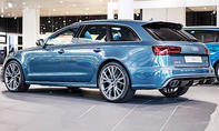 RS 6 in eiskaltem Polarblau