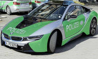 BMW i8 Polizeiauto