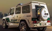 Brabus Mercedes G-Klasse Polizeiauto