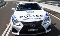 Lexus RC F Polizeiauto