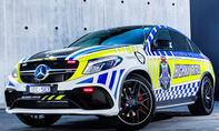 Mercedes-AMG GLE 63 Coupé Polizeiauto