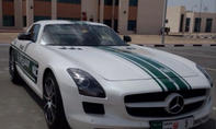 Mercedes SLS AMG Polizeiauto