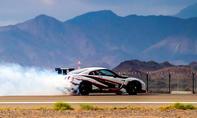 Drift-Weltrekord mit Nissan GT-R