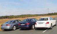 Mercedes E-Klasse vs. Audi A6 und BMW 5er
