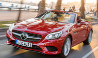 Neuer Mercedes SLC Roadster