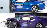 Mustang/Camaro/Challenger/Charger im Crashtest