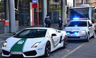 Gefälschter Polizei-Lamborghini