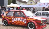 VW Golf 1 mit Breitbau auf dem GTI-Treffen 2016