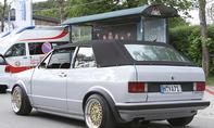 VW Golf 1 Cabrio Top Chop auf dem GTI-Treffen 2016