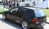 VW Golf 4 auf dem GTI-Treffen 2016