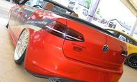 VW Golf 7 Cabrio auf dem GTI-Treffen 2016