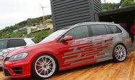 VW Golf R Variant Performance 35 auf dem GTI-Treffen 2016