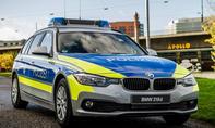 BMW 318d Polizeiauto