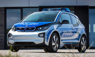 BMW i3 Polizeiauto