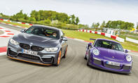 BMW M4 GTS/Porsche 911 GT3 RS: Test