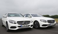 Mercedes C-Klasse/E-Klasse: Vergleich