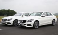 Mercedes E-Klasse/C-Klasse: Vergleich