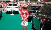 Audi-Dienstwagen für den FC Bayern