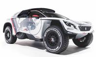 Peugeot 3008 DKR: Rallye Dakar 2017