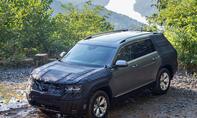 VW Atlas: Erste Fahrtt