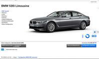 BMW 5er (G30) (2017): Online-Konfigurator