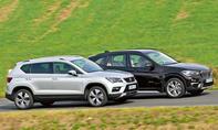 BMW X1 sDrive18i/Seat Ateca 1.4 EcoTSI