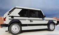 VW Golf 1 GTI aus Lego