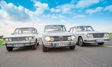 Fiat 125/Alfa Giulia/Lancia Fulvia: Classic Cars