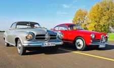Alfa Giulietta/Borgward Isabella: Classic Cars