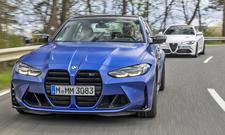 BMW M3 Competition/Alfa Romeo Giulia Quadrofoglio