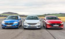 Skoda Scala/Opel Astra/Mazda3