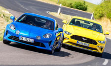 Alpine A110/Ford Mustang GT