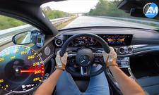 Mercedes-AMG E 63 S auf Top-Speed