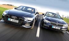 Audi A6 40 TDI quattro/BMW 520d xDrive