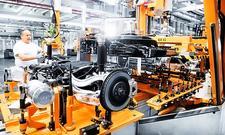 Audi e-tron: Produktion