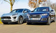 Zweikampf der kompakten Premium-SUV