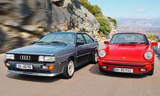 Audi quattro 20V/Porsche 911: Classic Cars