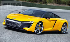 Audi R8 (2023): Illustration