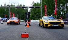 Audi TT RS gegen Mercedes-AMG GT S