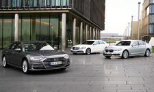 Audi A8/Mercedes S 350d/BMW 730d