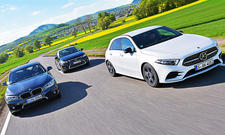 Mercedes A 200/BMW 118i/Lexus CT 200h