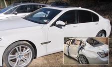 Schrottreifen BMW 7er repariert