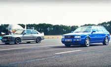 BMW M3 E30 vs. Audi RS2: Video