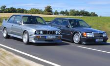 BMW M3 E30/Mercedes 190 Evo