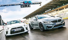 BMW M4 CS/Nissan GT-R Track Edition