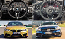 BMW M4 gegen Mercedes-AMG C 63 S Coupé